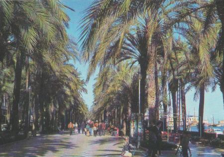 Spanien - Spanien - Alicante - Promenade - ca. 1975
