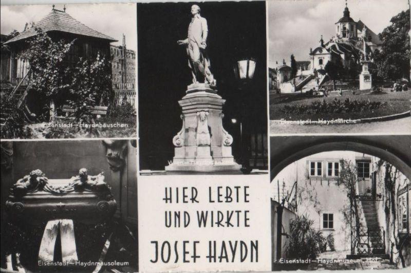 Österreich - Österreich - Eisenstadt - Hier lebte Josef Haydn - 1959