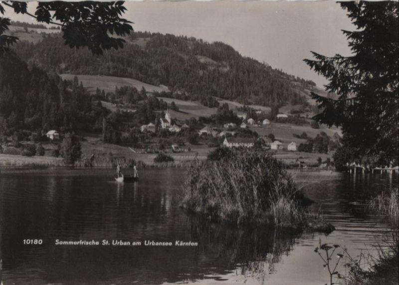 Österreich - Österreich - St. Urban - am Urbansee - ca. 1965