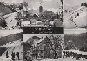 Österreich - Österreich - Reutte - Hotel Tirolerhof, u.a. mit Kirche St. Anna - 1963