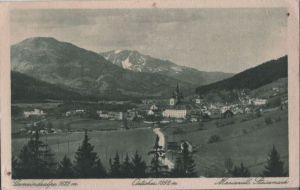 Österreich - Österreich - Mariazell - mit Oetscher - ca. 1950