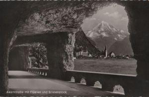 Schweiz - Schweiz - Axenstraße - mit Flüelen und Bristenstock - 1953