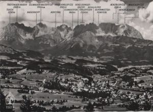 Österreich - Österreich - Kitzbühel - gegen Kaisergebirge - 1959