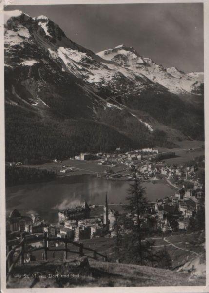 Schweiz - Schweiz - St. Moritz - Dorf und Bad - 1931