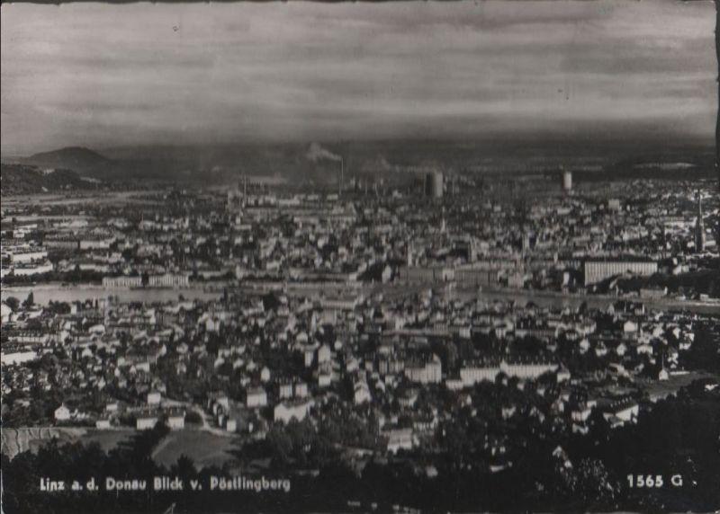Österreich - Österreich - Linz - Blick vom Pöstlingberg - ca. 1965