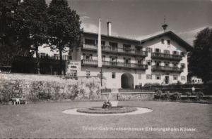 Österreich - Österreich - Kössen - Geb-Krankenkasse-Erholungsheim - 1958