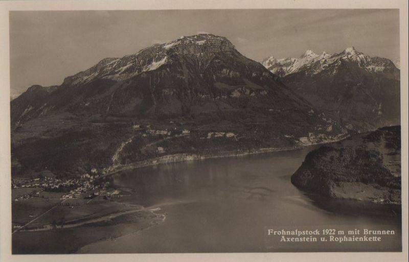 Schweiz - Schweiz - Brunnen - mit Axenstein - ca. 1950