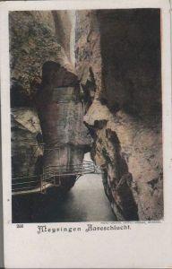 Schweiz - Schweiz - Meyringen - Meiringen - Aareschlucht - ca. 1925