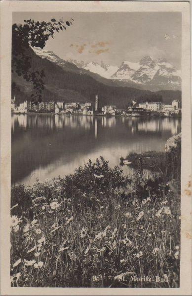 Schweiz - Schweiz - St. Moritz - ca. 1940