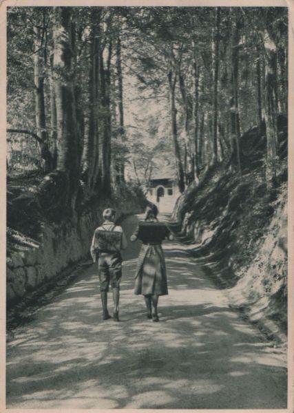 Schweiz - Schweiz - Küssnacht (SZ) - zur Erhaltung der Hohlen Gasse - 1934