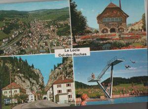 Schweiz - Schweiz - Le Locle - 4 Teilbilder - 1969