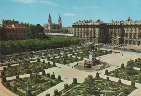 Spanien - Spanien - Madrid - Royal Palace - ca. 1975