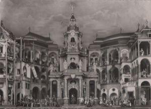 Österreich - Österreich - Salzburg, Hellbrunn - Mechanisches Theater - 1954