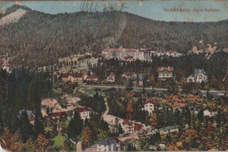 Österreich - Österreich - Semmering - Hotel Panhans - 1914