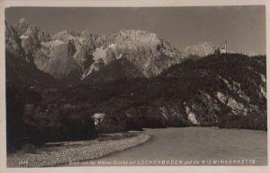 Österreich - Österreich - Mötz - Blick von Brücke auf Locherboden - 1940