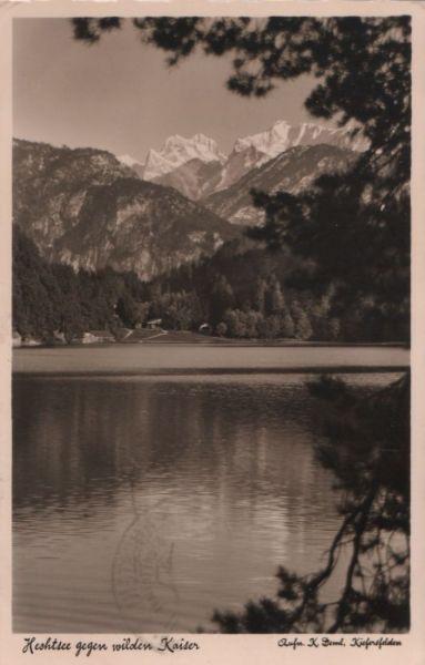 Österreich - Österreich - Hechtsee - gegen Wilden Kaiser - 1939