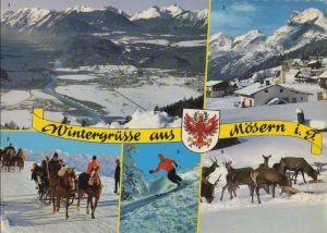 Österreich - Österreich - Telfs-Mösern - u.a. Schlittenfahrt - ca. 1980
