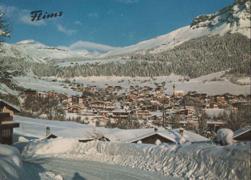 Schweiz - Schweiz - Flims Dorf - mit Cassons - ca. 1975