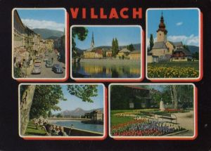 Österreich - Österreich - Villach - u.a. Neue Stadtbrücke - 1964
