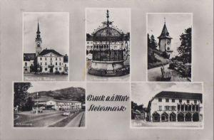 Österreich - Österreich - Bruck an der Mur - u.a. Uhrturm - 1965