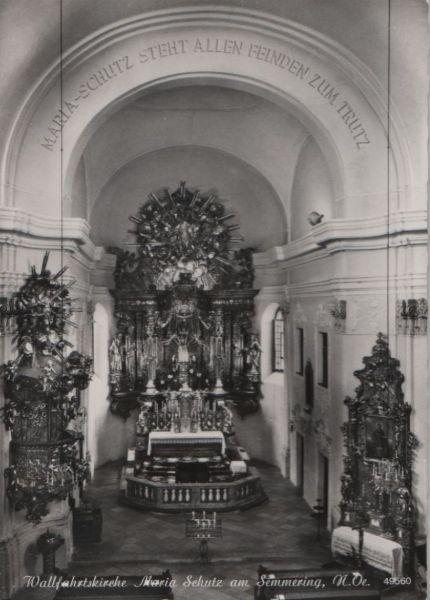 Österreich - Österreich - Schottwien, Maria Schutz - Wallfahrtskirche - 1963 0