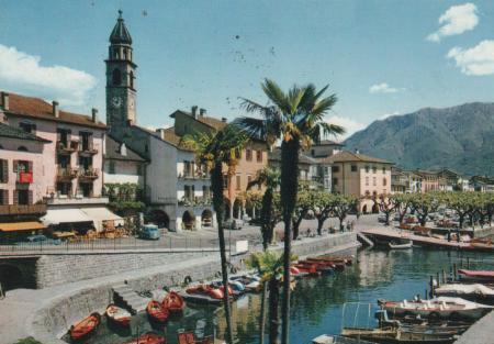 Schweiz - Italien - Ascona - Lago Maggiore - 1966