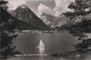 Österreich - Österreich - Achensee - Blick auf Pertisau - ca. 1960