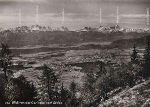 Österreich - Österreich - Gerlitzen - Blick nach Süden - ca. 1965