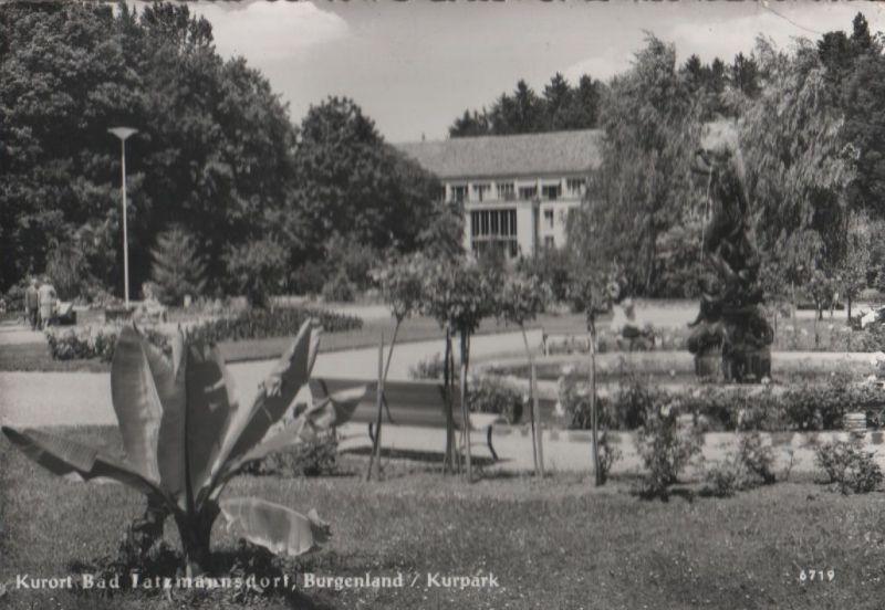 Österreich - Österreich - Bad Tatzmannsdorf - Kurpark - 1970