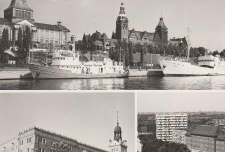 Polen - Polen - Stettin Szczecin - Waly Chrobrego - ca. 1975