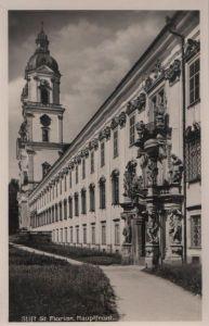 Österreich - Österreich - Sankt Florian - Stift, Hauptfront - ca. 1950
