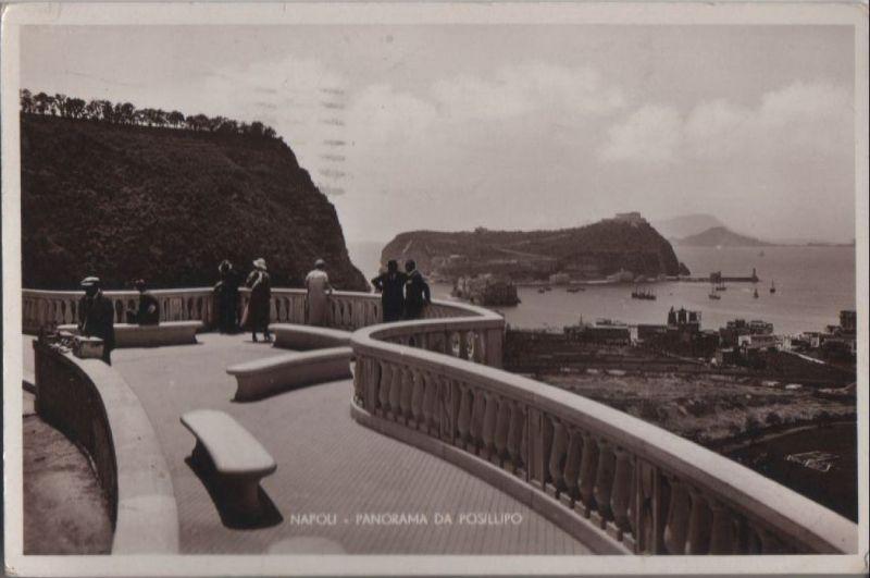 Italien - Italien - Neapel - Napoli - Panorama da Posillipo - 1933