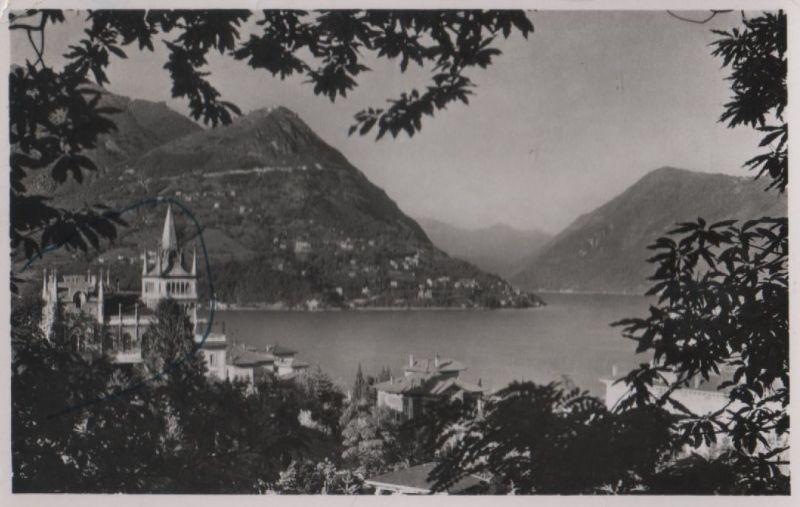 Schweiz - Schweiz - Lago di Lugano - e Monte Bre - ca. 1960