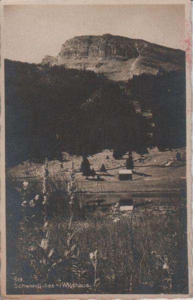 Schweiz - Schweiz - Schwendisee - bei Wildhaus - ca. 1935
