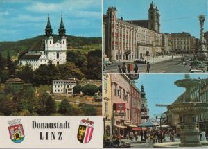 Österreich - Österreich - Linz - mit 3 Bildern - ca. 1985