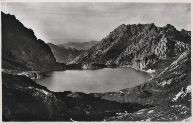 Schweiz - Schweiz - Seewis im Prättigau - Lünersee am Scesaplana - ca. 1955