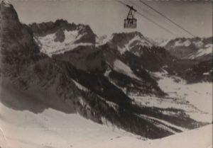 Österreich - Österreich - Zugspitzbahn - Blick auf Ehrwald - 1968