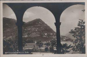 Schweiz - Schweiz - Lugano - col Monte Bre - ca. 1950