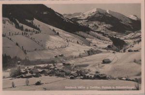 Österreich - Österreich - Saalbach - gegen Zwölfer - ca. 1955