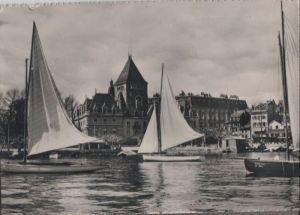 Schweiz - Schweiz - Lausanne - Chateau de Ouchy - 1955