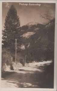 Schweiz - Schweiz - Luziensteig - Festung - ca. 1950