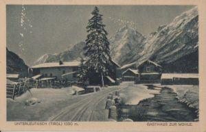 Österreich - Österreich - Leutasch-Unterleutasch - Gasthaus zur Mühle - 1925