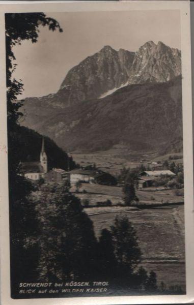 Österreich - Österreich - Schwendt - Blick auf den Wilden Kaiser - 1956