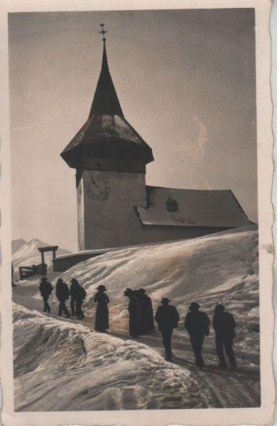 Schweiz - Schweiz - Davos-Glaris - Kirchgang - 1931