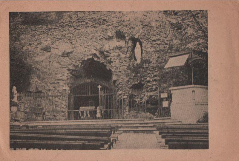 Österreich - Österreich - Maria Gugging - Lourdesgrotte im Wienerwald - ca. 1950