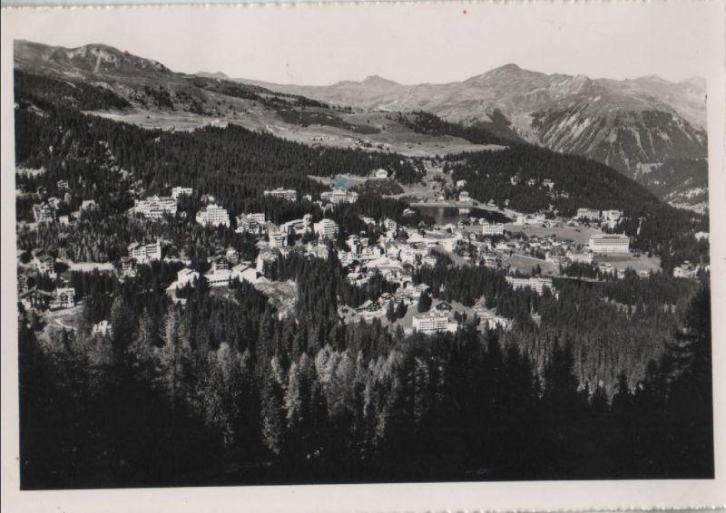 Schweiz - Schweiz - Arosa - Gesamtansicht - ca. 1955