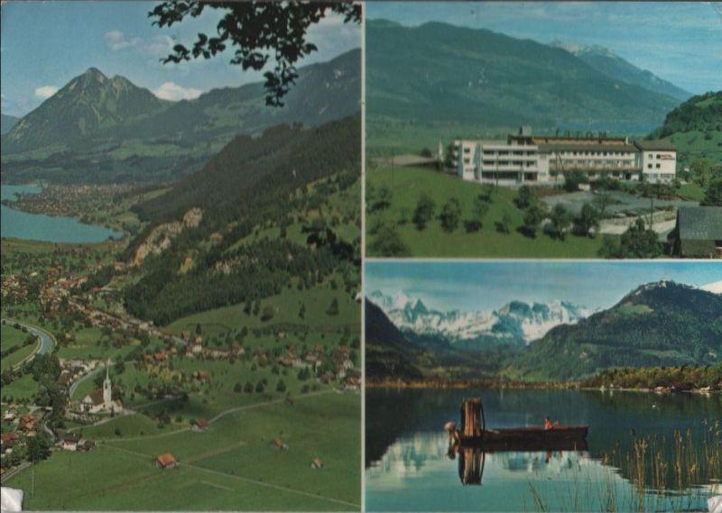 Schweiz - Schweiz - Giswil - u.a. Sarnersee - ca. 1980