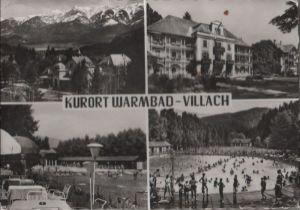 Österreich - Österreich - Villach - Kurort Warmbad - 1961