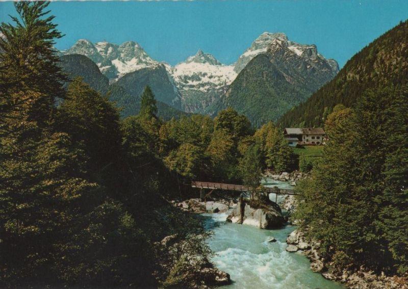 Österreich - Österreich - Lofer - Saalcachschlucht mit Teufelssteg - ca. 1980