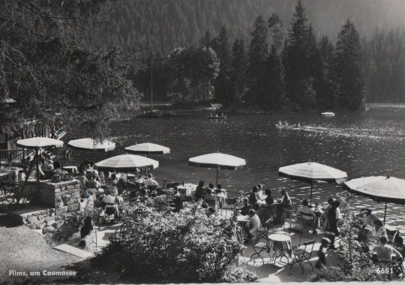 Schweiz - Schweiz - Flims - am Caumasee - ca. 1965